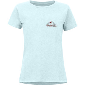 Marmot Arrow T-shirt Femme, corydalis blue heather